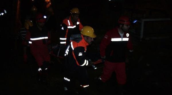 Madende Göçük Faciasi: 1 Ölü, 1 Yarali (Ek Fotoğraflar)