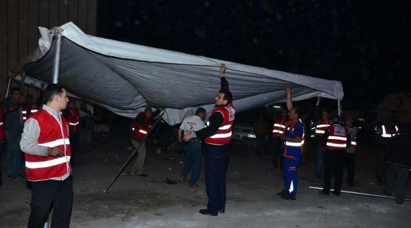 Madende Trafo Patladı, İşçiler Mahsur Kaldı (15)