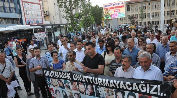 Madımak Olayları Gaziantep'te Anıldı