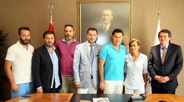 Magazin Gazetecileri, Başkan Kocadon'u Ziyaret Etti