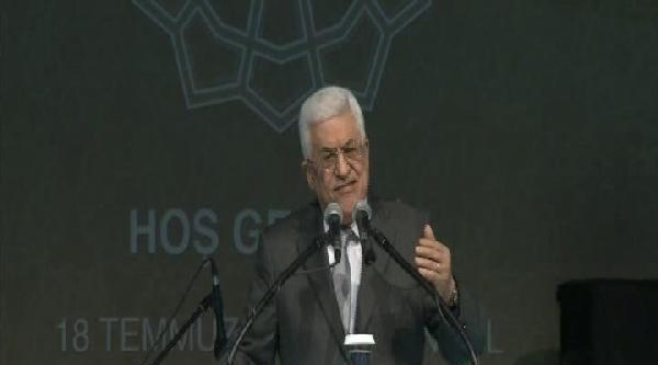 Mahmud Abbas, Ak Parti İstanbul İl Teşkilatı'nın İftarinda Konuştu