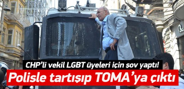 Mahmut Tanal yine TOMA'ya çıktı