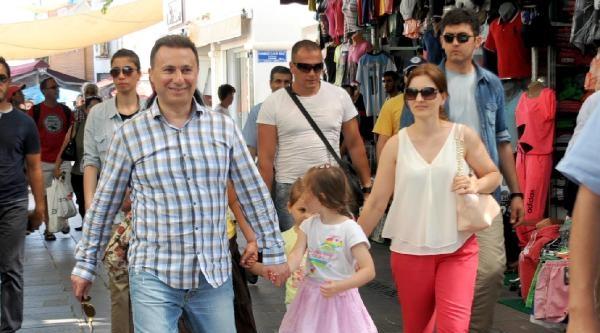 Makedonya Başbakanı Gruevski Bodrum'da
