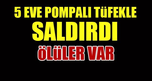 Malatya'da pompalı tüfek dehşeti!