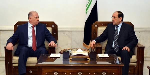 Maliki, Parlamento Başkani El Nüceyfi Ile Görüştü