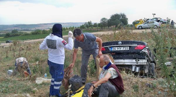 Malkara'da 3 Ayrı Trafik Kazası: 15 Yaralı