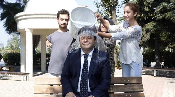 Maltepe Belediye Başkanı Buzlu Su Döktü, Topbaş'a Meydan Okudu