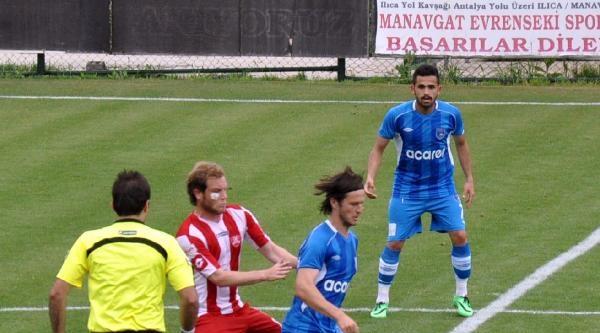 Manavgat Evrensekispor - Bursa Nilüferspor: 1-1