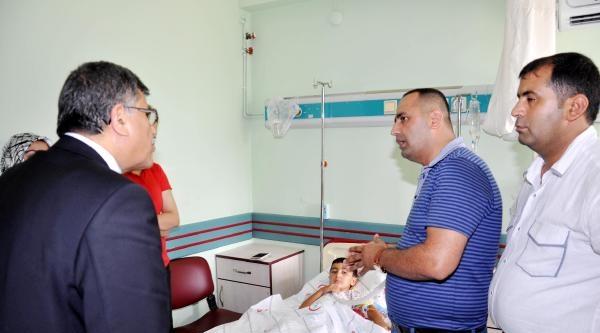 Manavgat Protokolu, Magandanın Vurduğu Çocuğu Ziyaret Etti