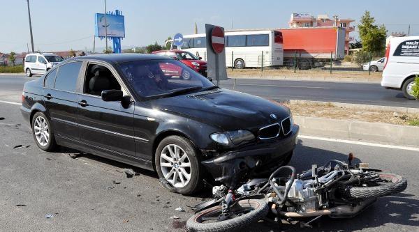 Manavgat'ta 3 Kaza: 1 Ölü, 2 Yaralı