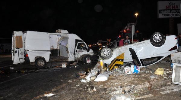 Manavgat'ta Trafik Kazası: 1 Ölü, 5 Yaralı