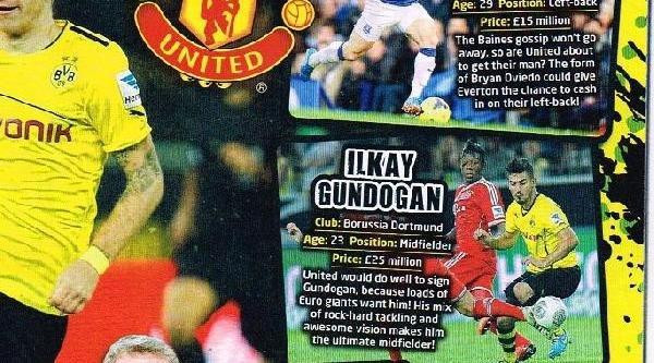 Manchester United'a Ilkay Gündoğan Önerildi