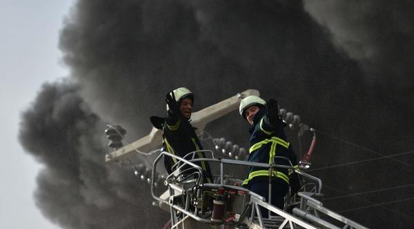 Manisa Osb'de Korkutan Yangın-fotoğraflar