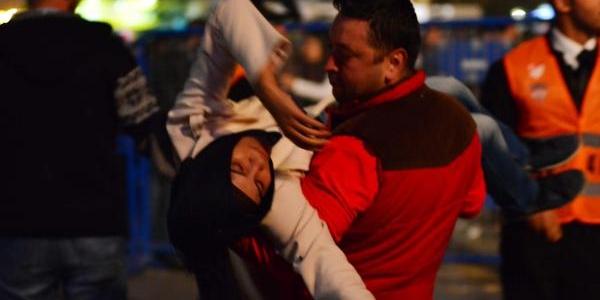 Manisa'da Cumhuriyet Etkinliklerinde Olay Çikti