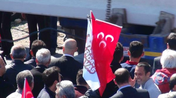 Mansur Yavaş'ın Beypazarı Mitinginde Ak Parti, Chp Ve Mhp Bayrakları Birarada