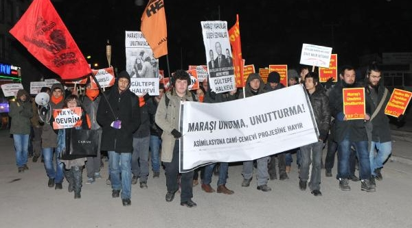 Maraş Katliami Eskişehir'de Yürüyüşle Protesto Edildi