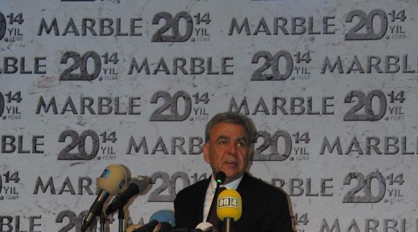 Marble 2014 Doğaltaş Ve Teknolojileri Fuarı Açıldı
