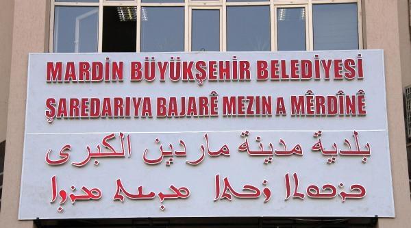 Mardin Büyükşehir Belediyesi'ne 4 Dilde Tabela