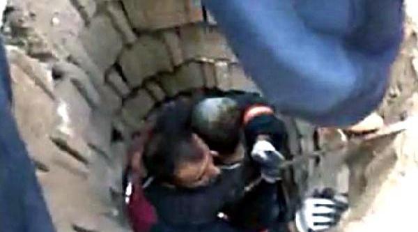 Mardin'de 35 Metrelik Kuyuya Düşen Çocuk Yarali Kurtuldu