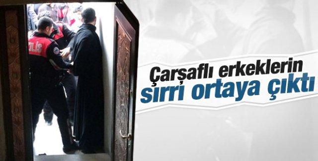 Mardin'de çarşaflı erkek paniği