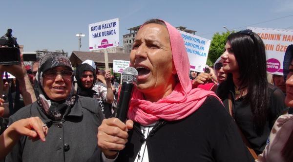 Mardinli Kadınlardan Şiddet Ve Çocuk Gelin Protestosu