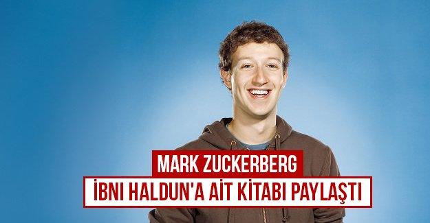 Mark Zuckerberg  İbni Haldun'a ait kitabı paylaştı...