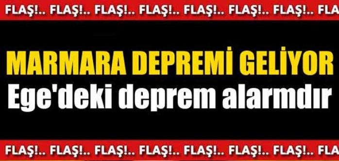 Marmara depremi geliyor!