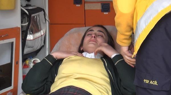 Marmara Depremini Yaşayan Nazlıcan, Deprem Tatbikatında Bayıldı