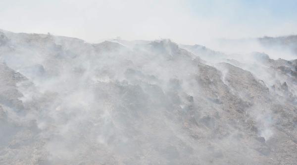 Marmara Ereğlisi'nde Çöplük 10 Gündür Yanıyor