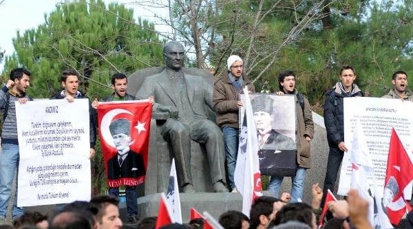 Marmara Üniversitesi'Nde Tgb Eylemi