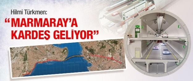 Marmaray'a kardeş geliyor!