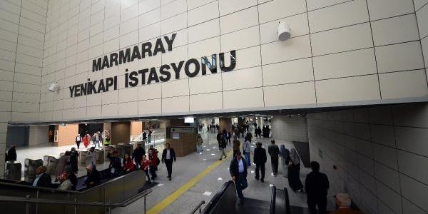 Marmaray'da Yoğunluk (1)