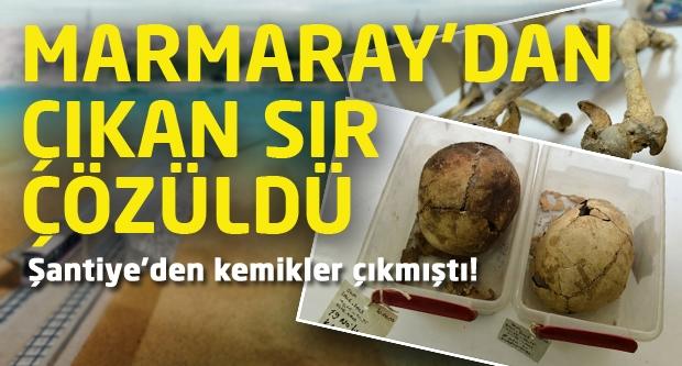 Marmaray'dan Çıkan Sır Çözüldü!