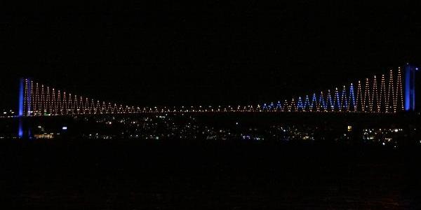 Marmaray'In Açilişi Boğaziçi Köprüsü'Nden Duyuruldu