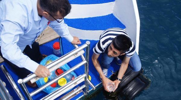 Marmaris Körfezi'nde Denize Atık Su Deşarjına İnceleme