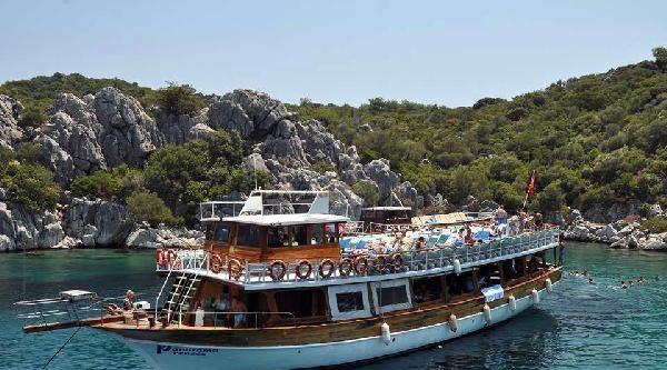 Marmaris'te Tekne Turlarına Yoğun İlgi
