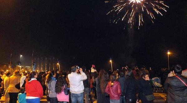 Marmaris'te Yilbaşi Kutlamalari Coşkulu Geçti