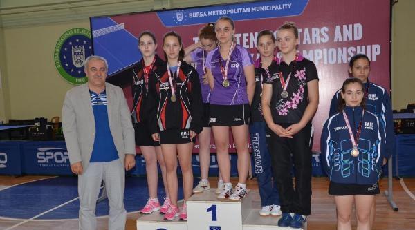Masa Tenisi Balkan Şampiyonasi Sona Erdi