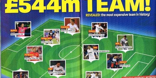 Match Dergisine Göre Futbol Tarihinin En Pahali 11'i 544 Milyon Sterlin
