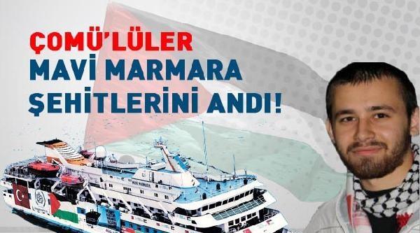 Mavi Marmara'da Ölenler Çanakkale'de Anıldı