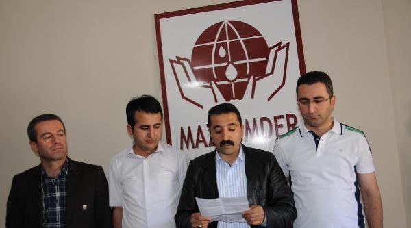 Mazlum-der Hakkari Şubesi, Suriyedeki Katliamları Kınadı