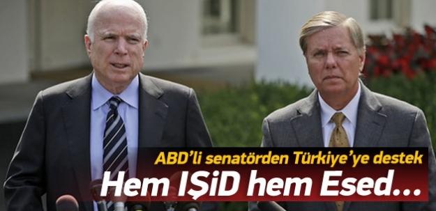 McCain'den Türkiye'ye destek