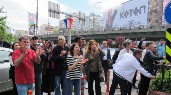 Mecidiyeköy'de Biber Gazı Ve Misket Savaşı