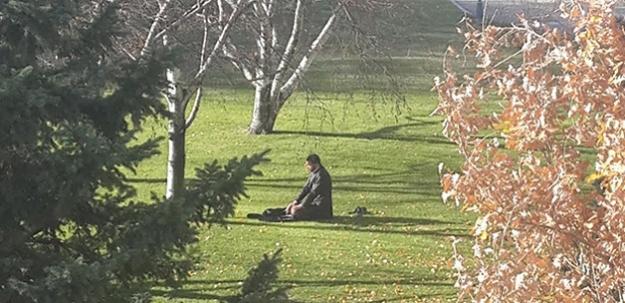 Meclis bahçesinde bir ilk!