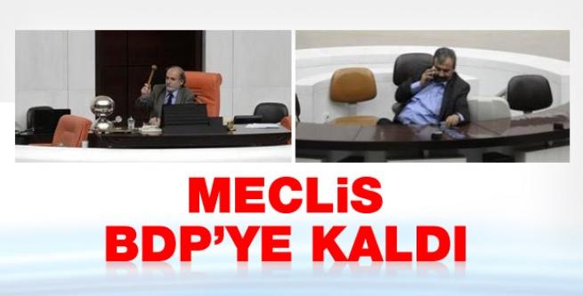 Meclis BDP'ye kaldı!