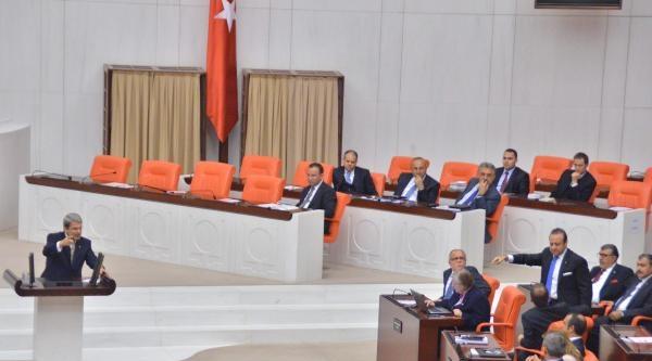 Meclis Soruşturma Önergesi Görüşmelerinde Gerginlik