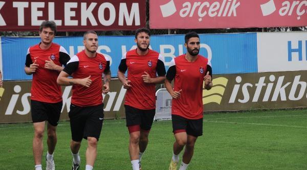 Mehmet Ekici Trabzonspor İle İlk Antrenmanına Çikti