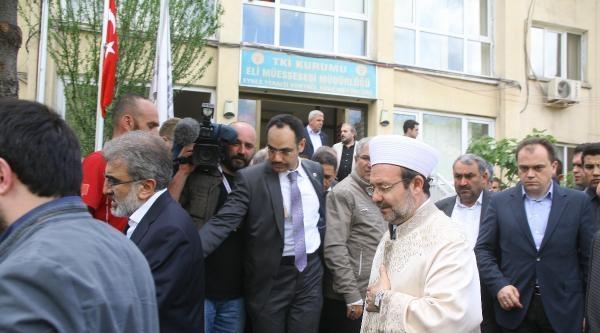 Mehmet Görmez'den Başsağlığı