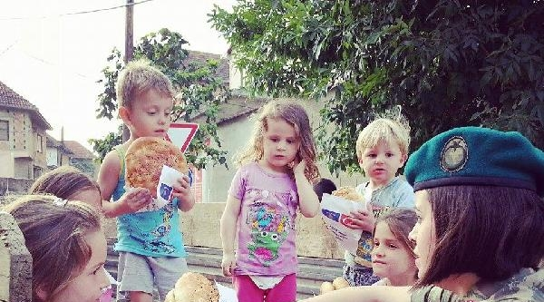 Mehmetçik, Bu Yıl Da Kosova'da Ramazan Çadirlari Kurdu