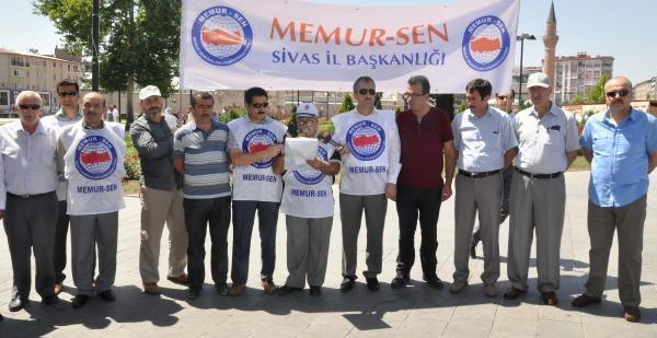Memur- Sen'den Başbakan Erdoğan'a Destek